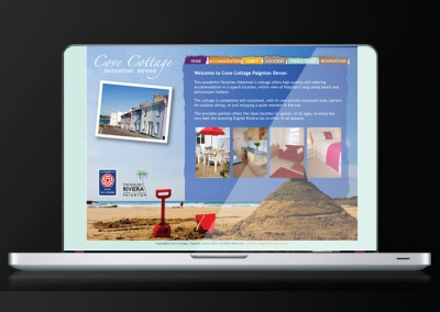 Cove Cottage Paignton Website Development