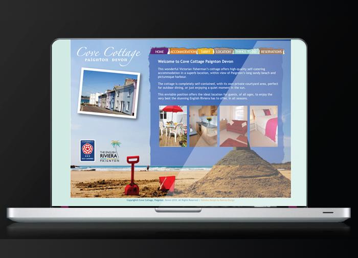 Cove Cottage Paignton Website Development