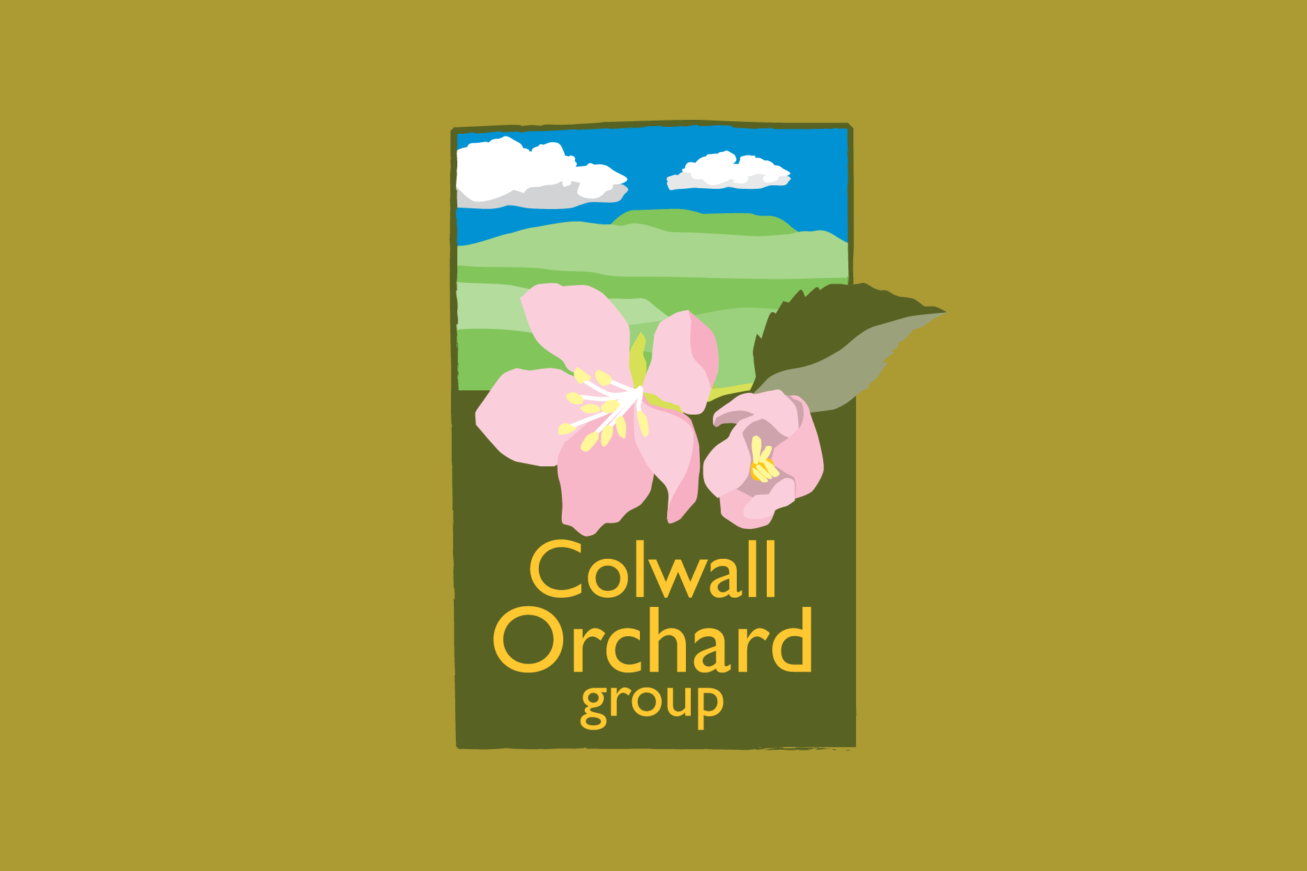 Colwall Orchard Group Branding