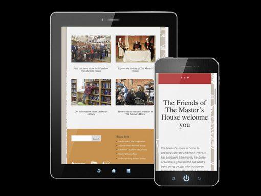 The Master's House Ledbury Website Development