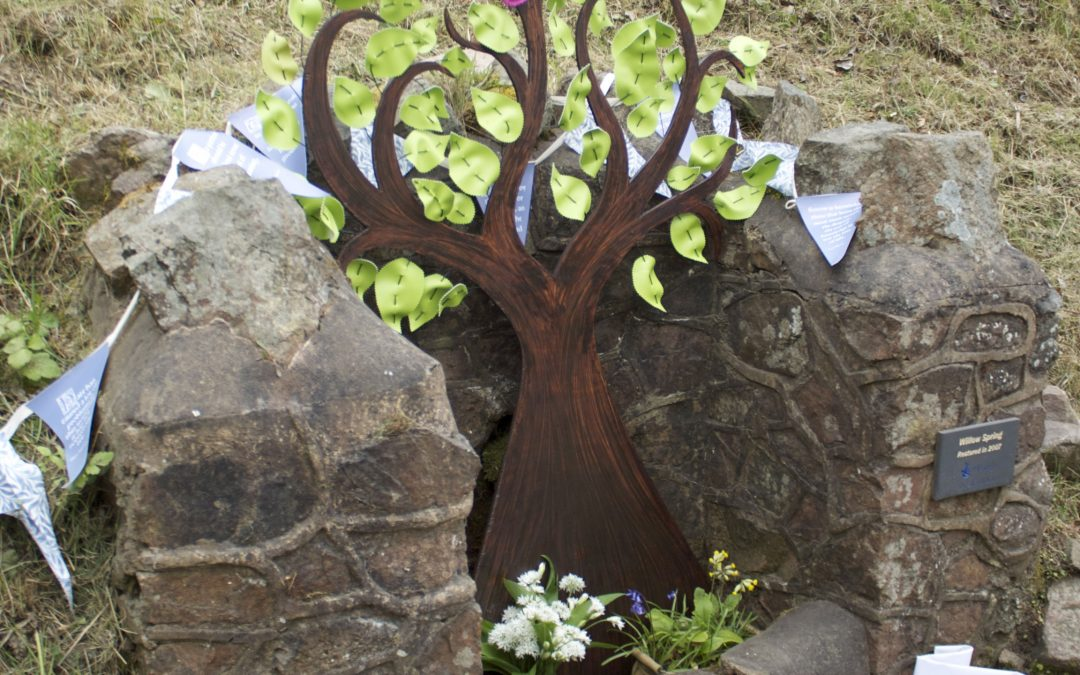 Malvern Spa Association Well Dressing 2017 – The Tree of Life