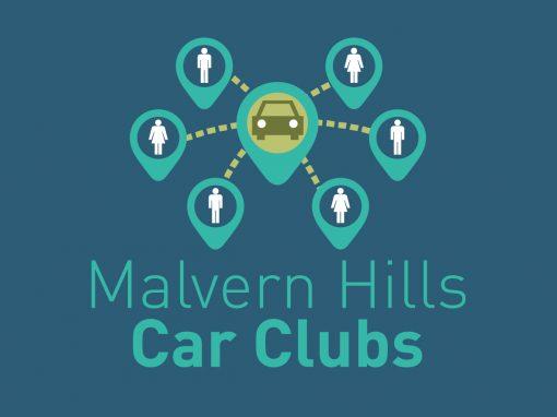 Malvern Hills Car Clubs Branding
