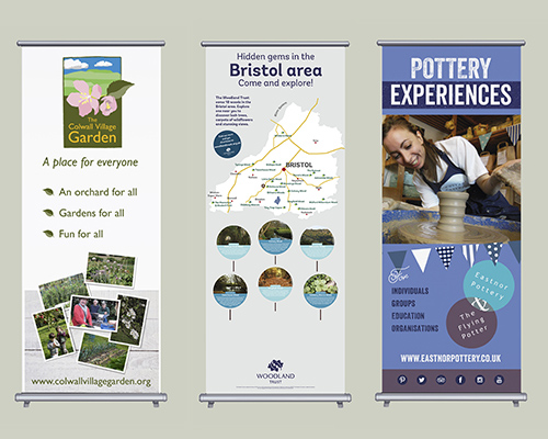 Exhibition Stands and Pull-up Banners