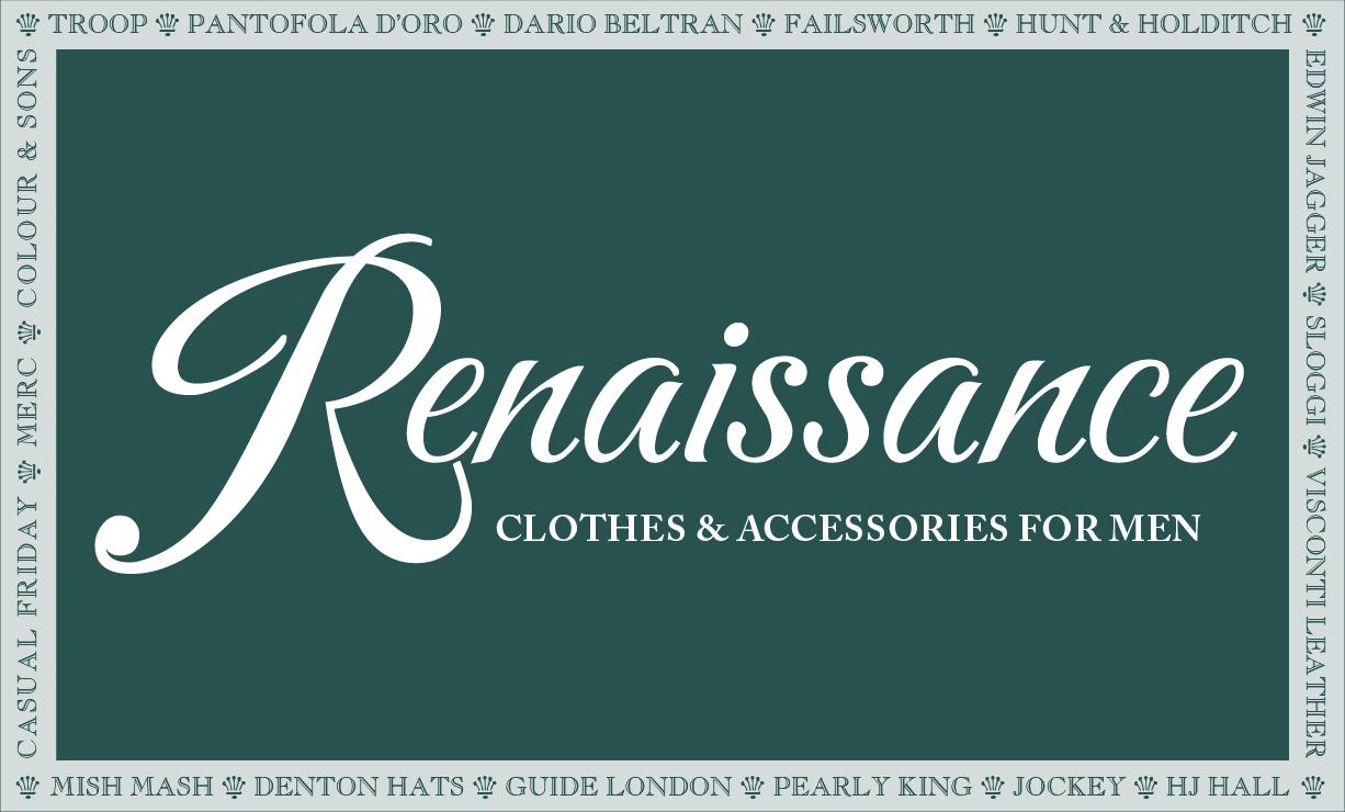 Renaissance Menswear Ledbury