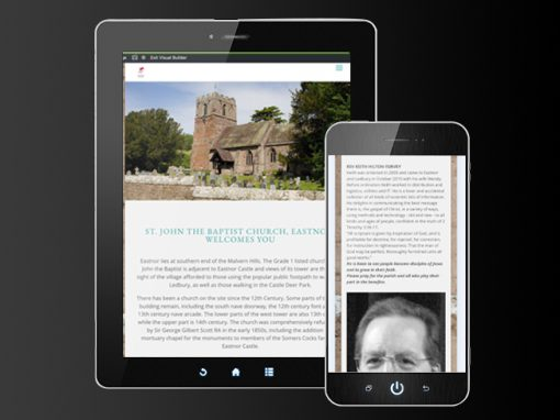 Eastnor Church Website Development