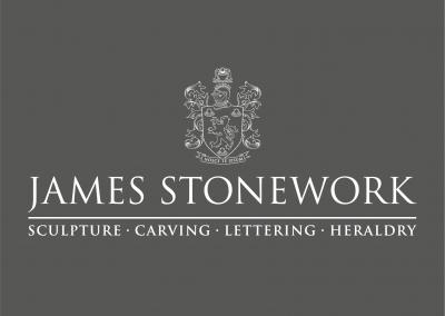 James Stonework Sculpture Carving Lettering Heraldry